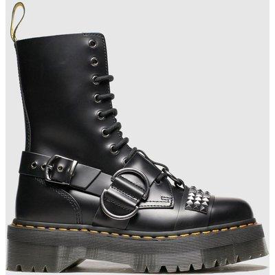 Dr Martens Black Jadon Hi Stud Boots