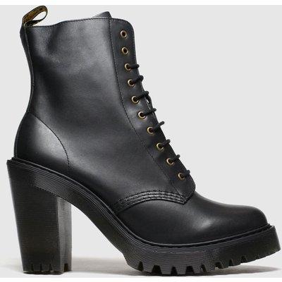 Dr Martens Black Kendra 10 Eye Boot Boots
