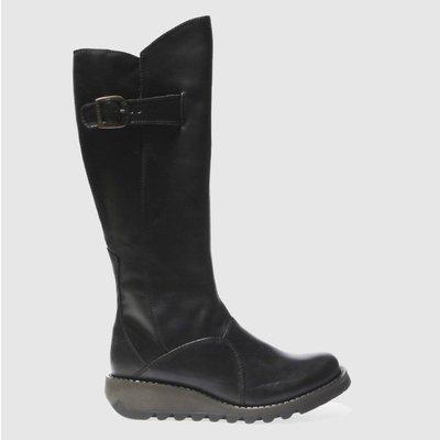 Fly London Black Mol 2 Boots