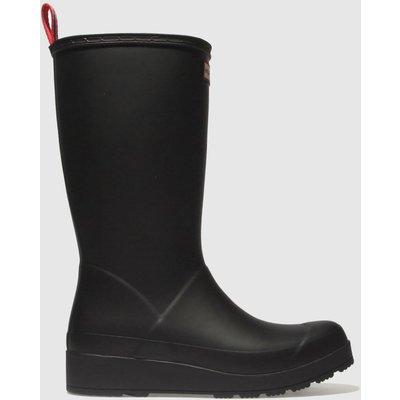 Hunter Black Original Play Tall Boot Boots