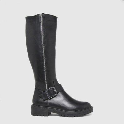 Schuh Black Deanna Studded Knee Boots