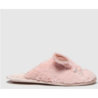 Schuh Pink Hazel Faux Fur Mule Slippers