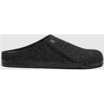 BIRKENSTOCK Dark Grey Zermatt Slippers