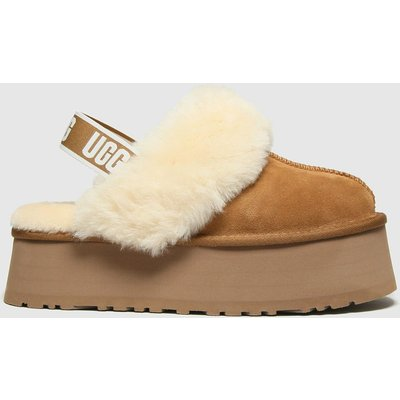 UGG Tan Funkette Slippers