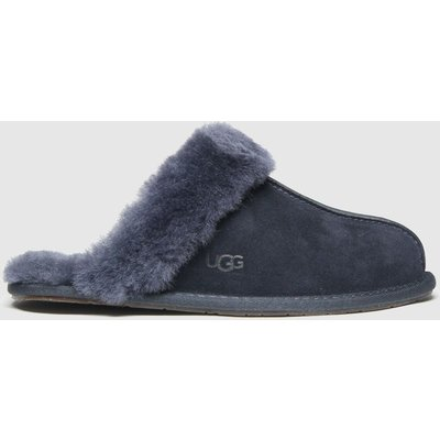 UGG Navy Scuffette Slippers