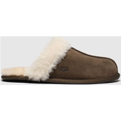 UGG Brown Scuffette Slippers
