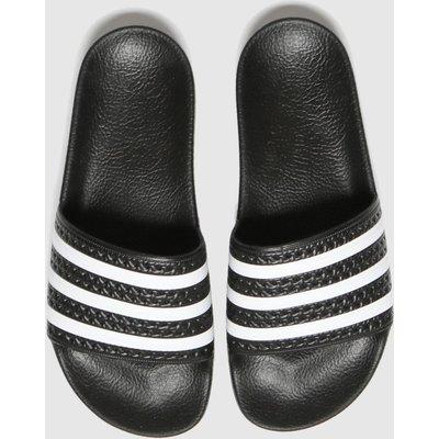 Adidas Black Adilette Sandals