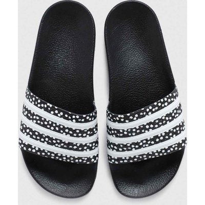 Adidas Black & White Adilette Sandals