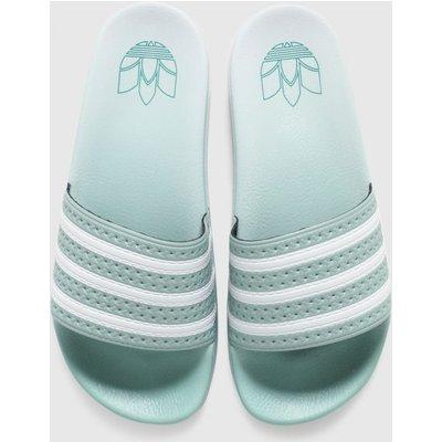 Adidas Light Green Adilette Sandals