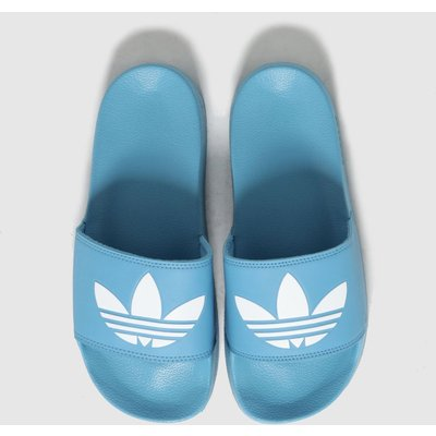 Adidas Blue Adilette Lite Sandals