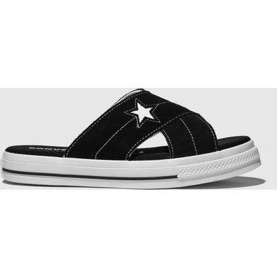 Converse Black & White One Star Sandal Sandals