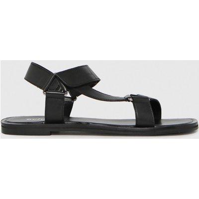 Schuh Black Trinity Leather Sandal Sandals