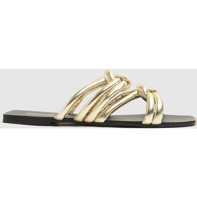 Schuh Gold Talise Knot Sandal Sandals