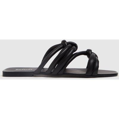 Schuh Black Talise Knot Sandal Sandals