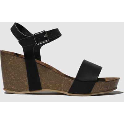 Schuh Black Gorgie Gayle 2 Low Heels