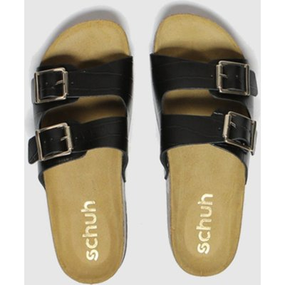 Schuh Black Milan Sandals