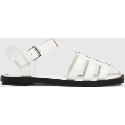 Schuh White Luella Fisherman Sandals