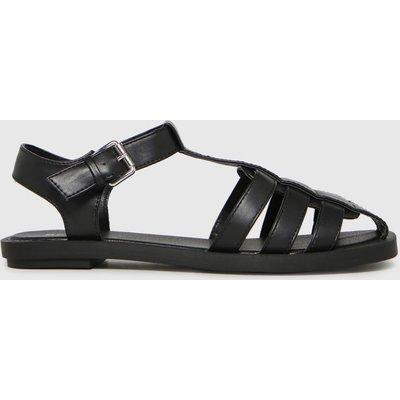 Schuh Black Luella Fisherman Sandals