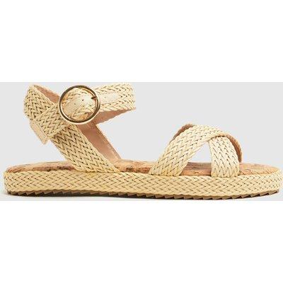 Schuh Natural Verity Buckle Sandals