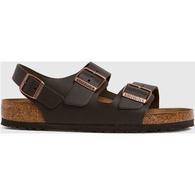 BIRKENSTOCK Brown Milano Sandals