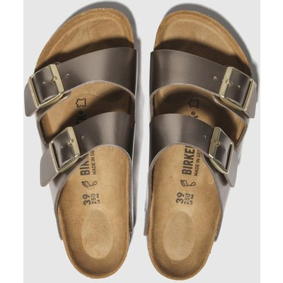 BIRKENSTOCK Bronze Electric Metallic Sandals
