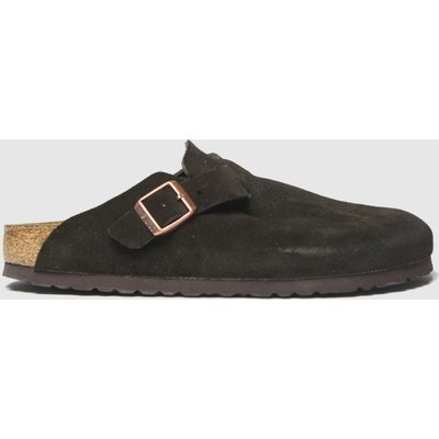 BIRKENSTOCK Brown Boston Sandals
