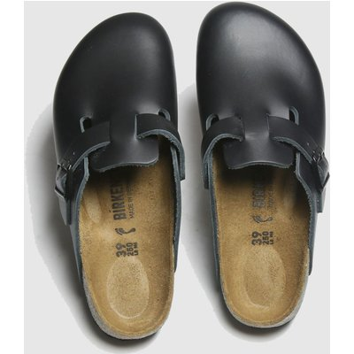 BIRKENSTOCK Black Boston Sandals