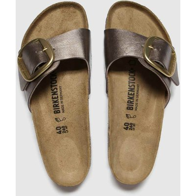 BIRKENSTOCK Bronze Madrid Big Buckle Sandals
