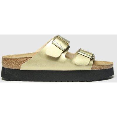 BIRKENSTOCK Gold Papillio Pure Platform Sandals