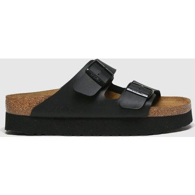 BIRKENSTOCK Black Papillio Platform Sandals