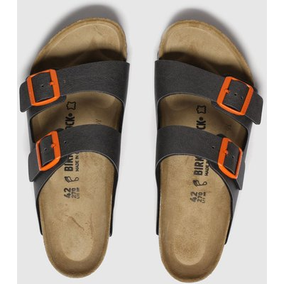 BIRKENSTOCK Grey Birk Arizona Sandals
