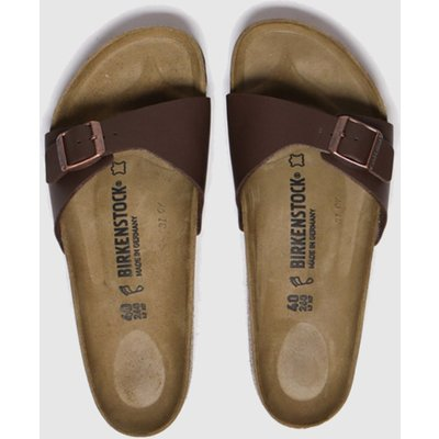 BIRKENSTOCK Brown Madrid Sandals