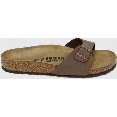 BIRKENSTOCK Brown Madrid Sandals