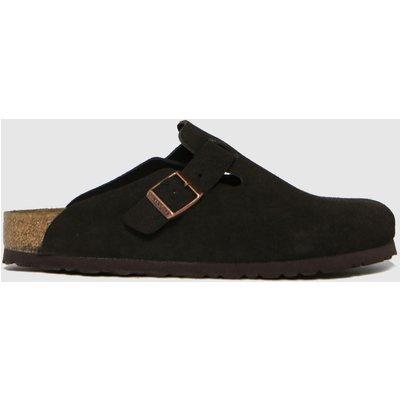 BIRKENSTOCK Brown Boston Sandals