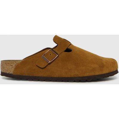 BIRKENSTOCK Tan Boston Sandals