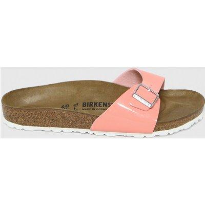 BIRKENSTOCK Pink Madrid Patent Sandals