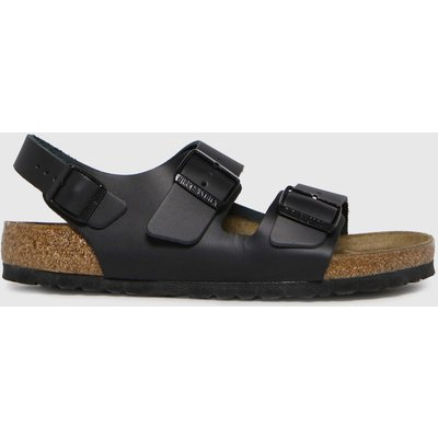 BIRKENSTOCK Black Milano Sandals