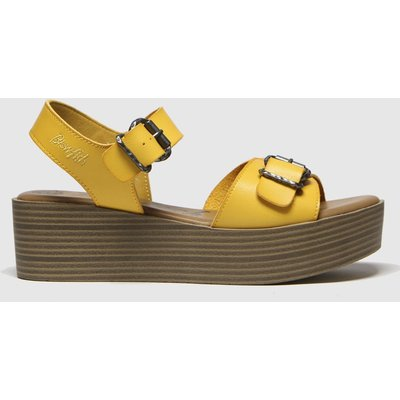 Blowfish Malibu Yellow Leeds Vegan Sandals