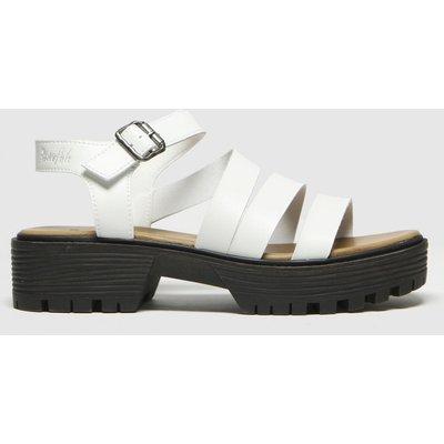 Blowfish Malibu White Erwyn Vegan Sandals