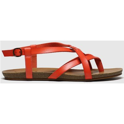 Blowfish Malibu Red Granola B Vegan Sandals