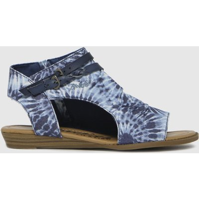 Blowfish Malibu Blue Blumoon Sandals
