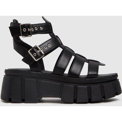 Schuh Black Tami Chunky Sandals