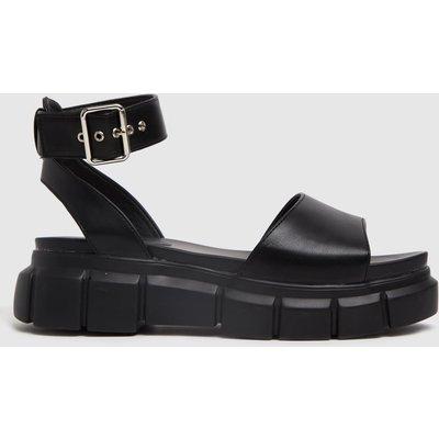 Schuh Black Trilary Chunky Sandals