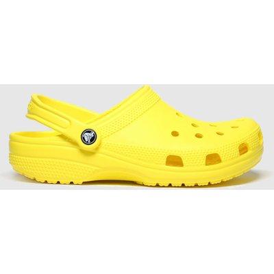 Crocs Yellow Classic Clog Sandals