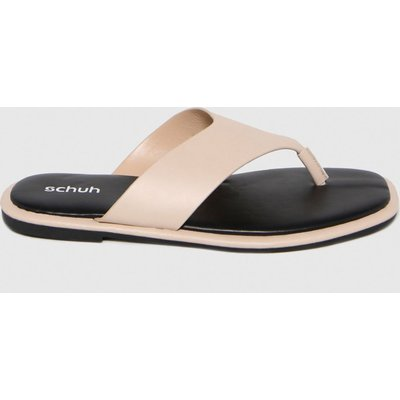 Schuh Natural Tracy Toe Post Sandals
