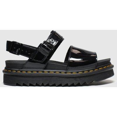 Dr Martens Black Voss Sandals