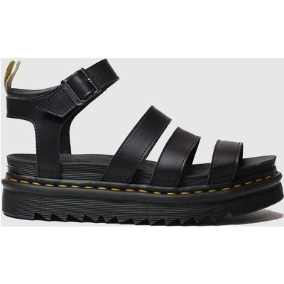 Dr Martens Black Vegan Blaire Sandals