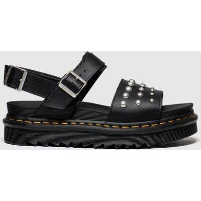 Dr Martens Black Voss Stud Sandals