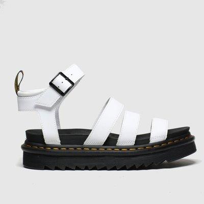 Dr Martens White Blaire Sandals