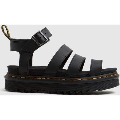Dr Martens Black Blaire Sandals
